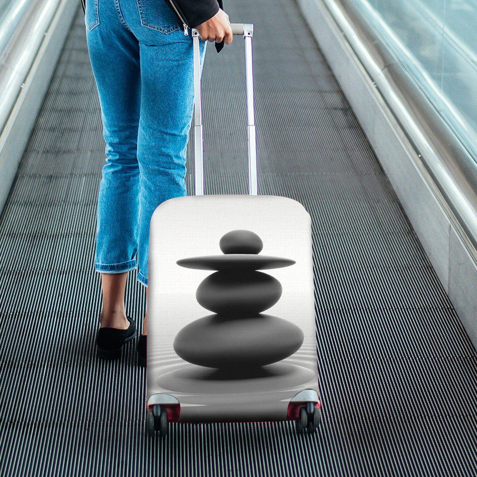 Zen Stone Luggage Cover