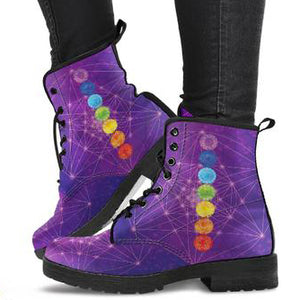 Chakra Mandala Women's Leather Boots