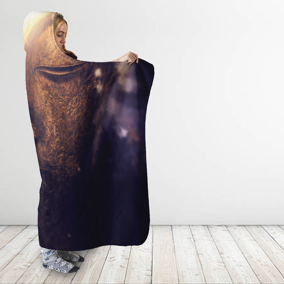 Universal Buddha Hooded Blanket