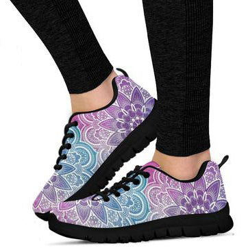 Faded Mandala Women's Sneakers