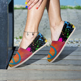 Peace Abstract Casual Shoes