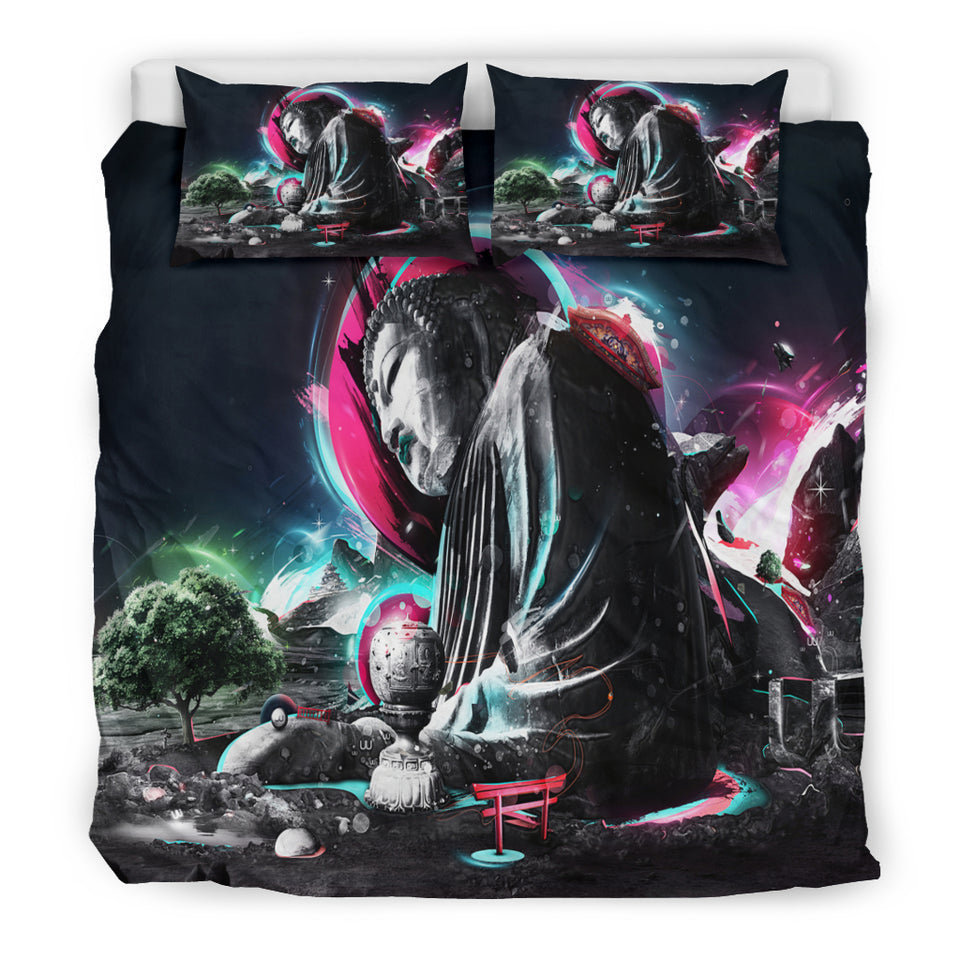Buddha Pop Art Bedding Set