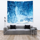 TAPESTRY WOLF IN WINTER