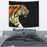 Watercolor Tiger Tapestry