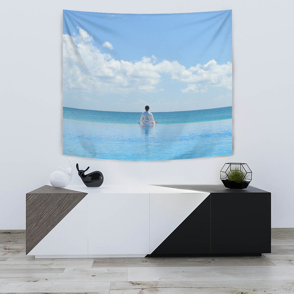 Peaceful Meditation Tapestry