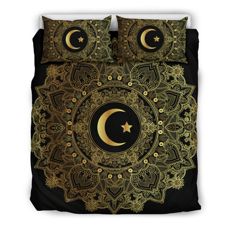 Mandala Moon Bedding Set