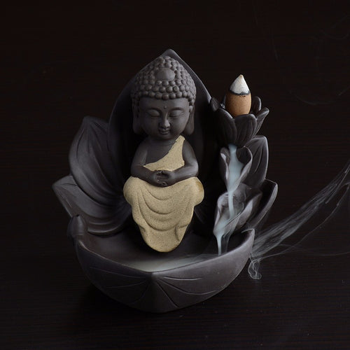 Guanyin Backflow Incense Burner