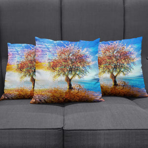 Lonely Tree Pillow Cover