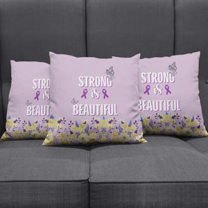 Strong & Beautiful Pillow Cover