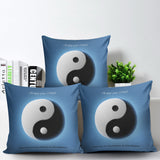 Ying Yang Pillow Cover