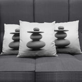 Zen Stones Pillow Cover
