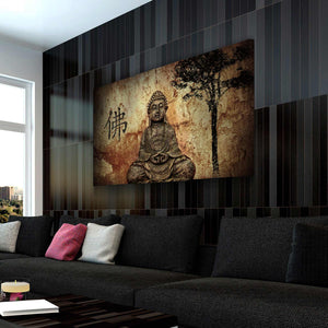Zen Buddha Canvas Wall Art