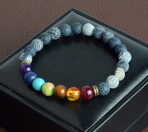 Bracelet - 8 Colors Beads Energy Bracelet