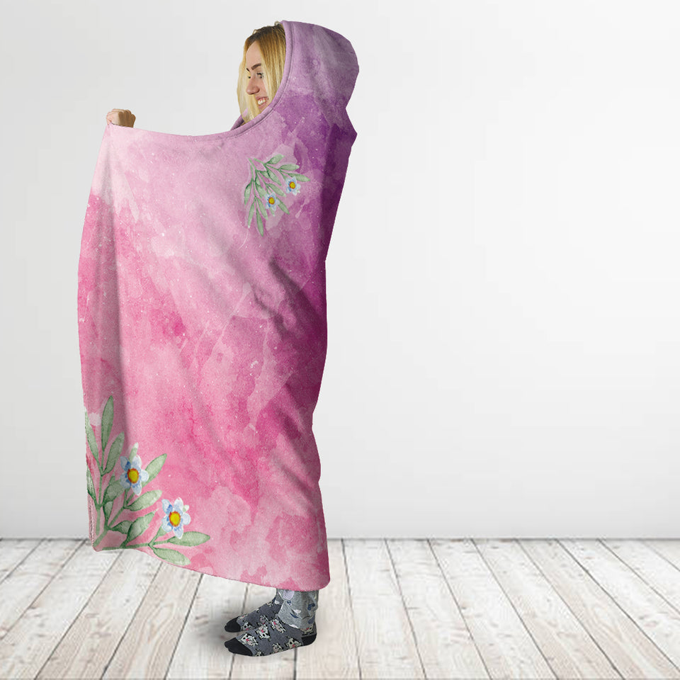 Don't Hate - Meditate Hooded Blanket