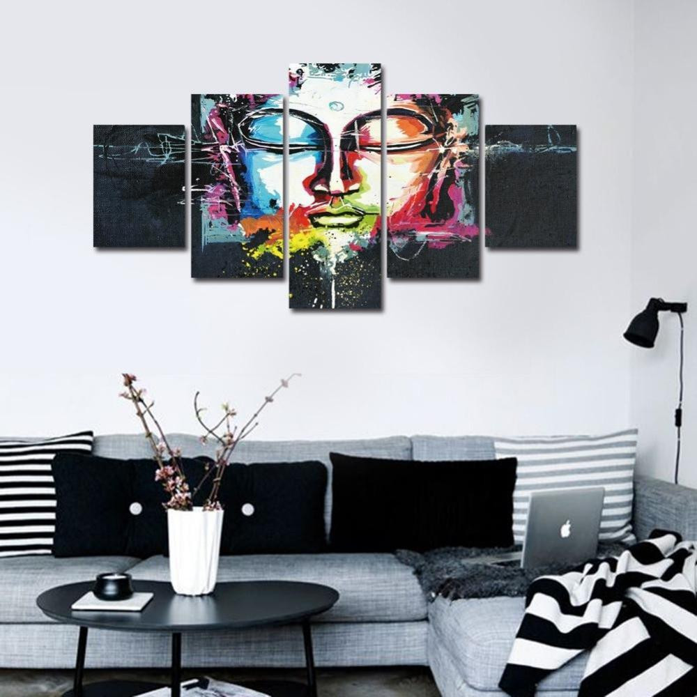 Abstract Buddha Canvas – Insta Buddha