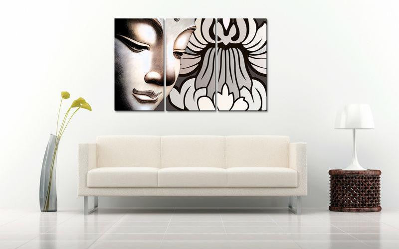 Canvas - Abstract Buddhism Canvas