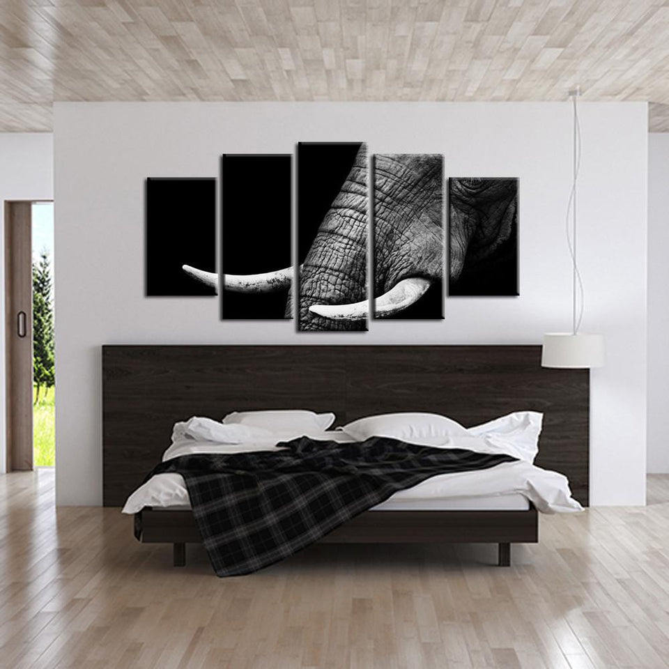 Canvas - Elegant Elephant Canvas