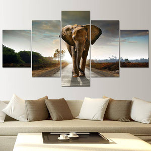 Canvas - Elephant's Journey Canvas