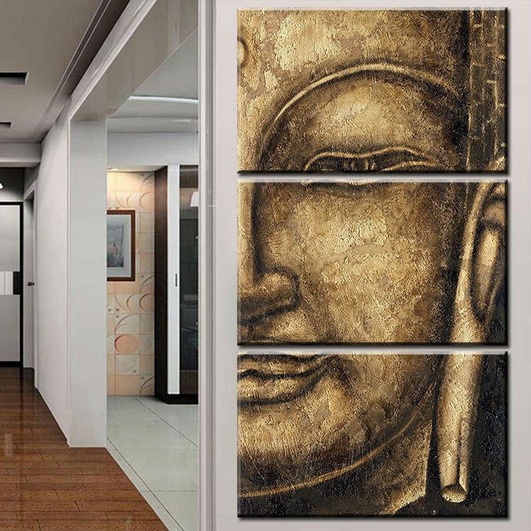 Canvas - Golden Buddha Canvas