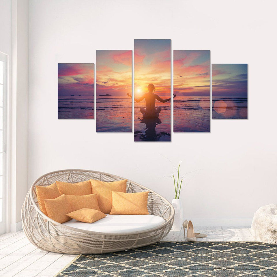Canvas - Peaceful Meditation Canvas