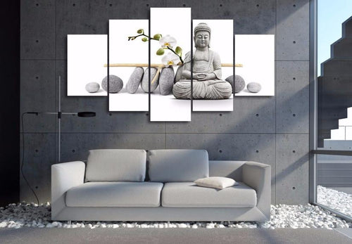 Canvas - Stone Buddha Canvas
