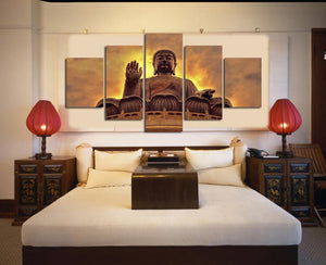 Canvas - Watchful Buddha Canvas