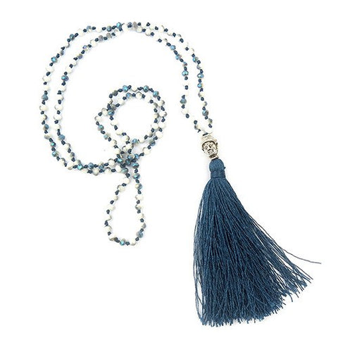 Colorful Beads & Tassel Bohemian Necklaces. - Hilltop Apparel - 1