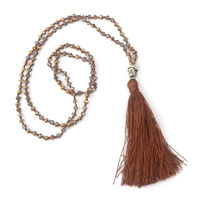 Colorful Beads & Tassel Bohemian Necklaces. - Hilltop Apparel - 7