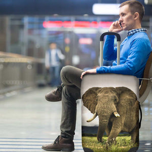Majestic Elephant Luggage Cover