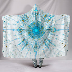 Fractal Mandala 2 Hooded Blanket