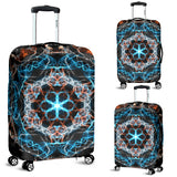 Fiery Mandala Luggage Cover