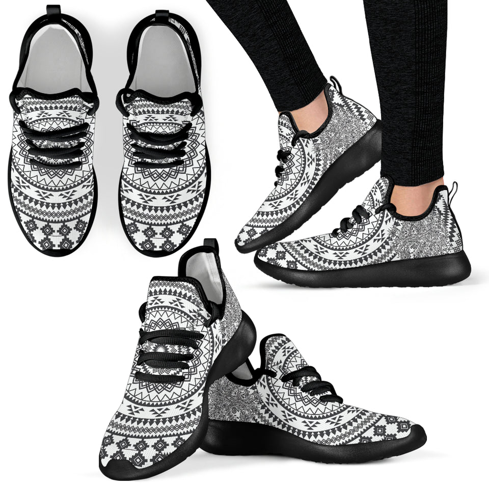 Tree of Life Mesh Knit Sneakers