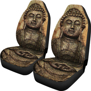 Zen Buddha Car Seat Cover