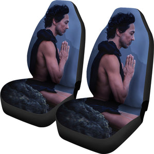 Moonlight Meditation Car Seat Cover