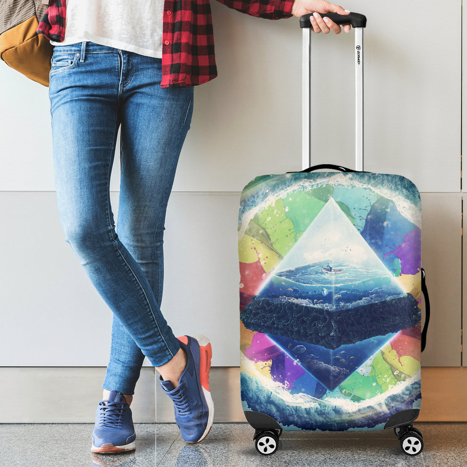 Pyramid Luggage Cover