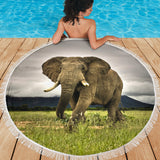 Majestic Elephant Beach Blanket