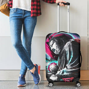 Buddha Pop Art Luggage Cover