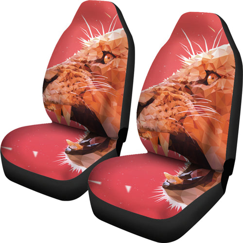 Roaring Lion Car Seat Cover
