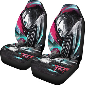 Buddha Pop Art Car Seat Covers