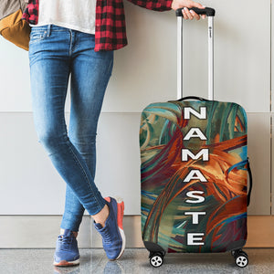 Namaste Luggage Cover