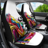 Abstract Buddha Car Seat Covers