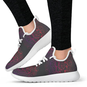 Zen Lotus Mesh Knit Seakers