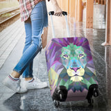 Colorful Lion Luggage Cover
