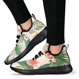 Tropical Summer Mesh Knit Sneaker