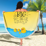 Dream Big Beach Blanket