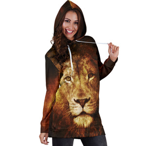 Lion Hoodie Dress