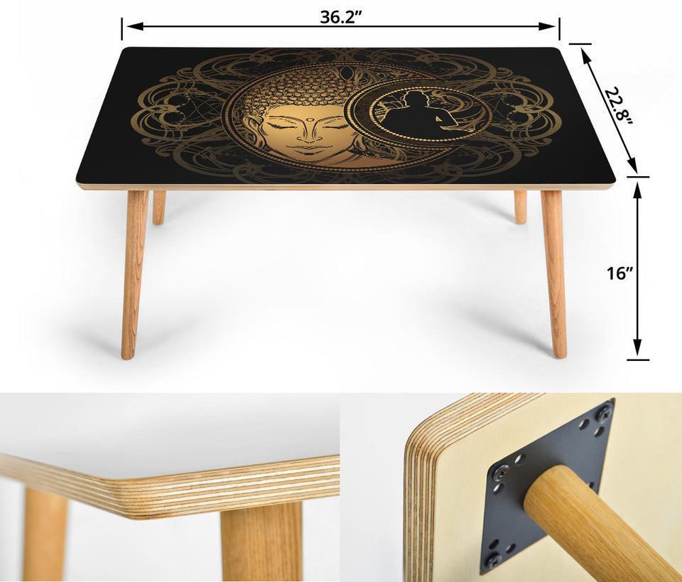 HandCrafted Golden Zen Coffee Table (USA customers only)