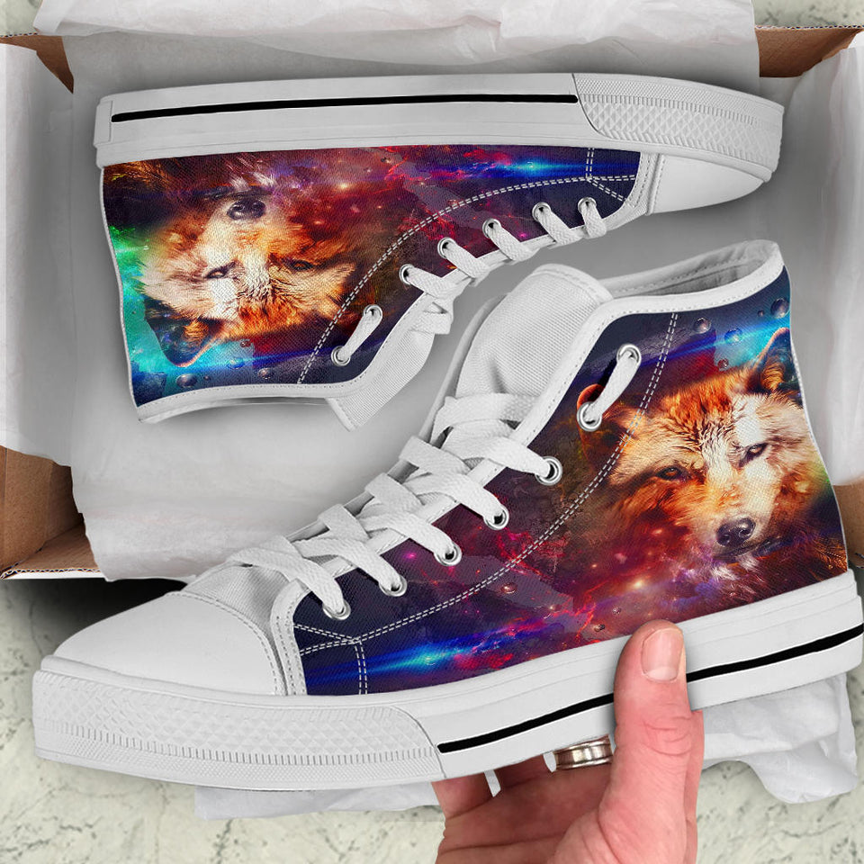 1Abstract Wolf High Tops