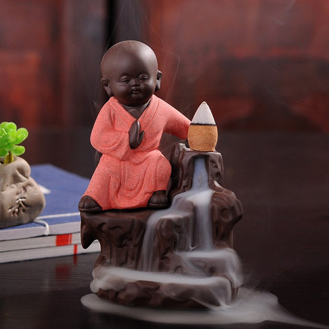 Incense - Monk Backflow Incense Burner