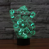 Lamp - Ganesh 3D LED Lamp